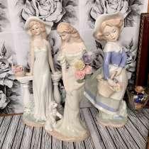 Фарфоровые статуэтки Девушек, в Москве