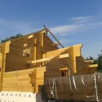 Строим брусовые дома бани и Кровли стропильнв, в Томске