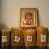 Свечи полувосковые, восковые медовые, праздничные восковые, в г.Чонджу