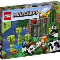LEGO Minecraft 21158 Питомник панд, в Москве