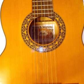 Классическая гитара мастера Николая Игнатенко, в Краснодаре