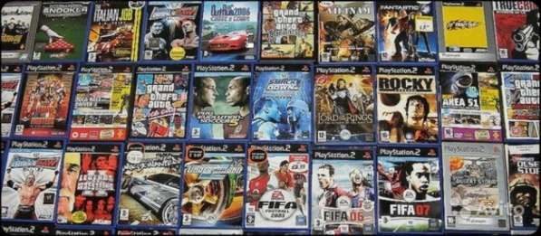 200 штук Лицензионных дисков для PlayStation 2 (PS 2)