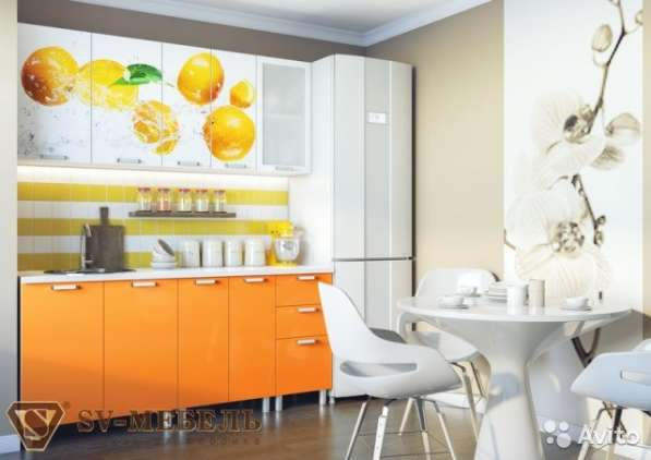 Новый кухонный гарнитур Апельсины