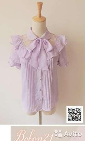 Блузка в стиле Lolita, новая, с биркой, в упаковке