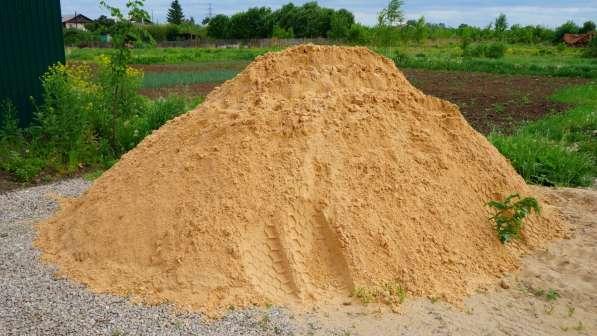 Песок, щебень и т. д