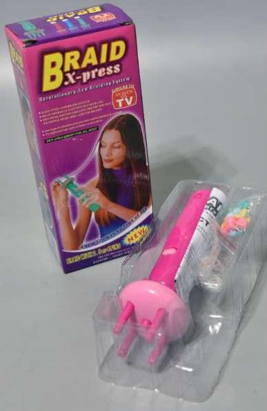 Инструмент для плетения косичек Braid X-press От 2 до 4 прядок