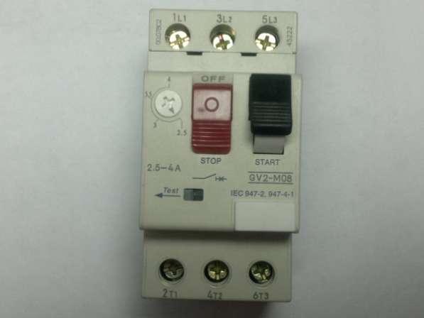 Автомат GV2 ME08 (2,5-4А)