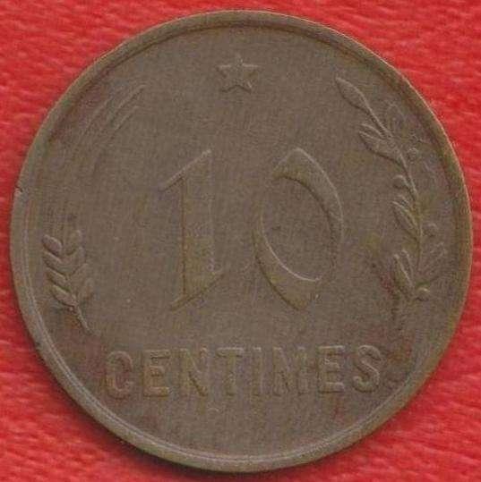 Люксембург 10 сантимов 1930 г