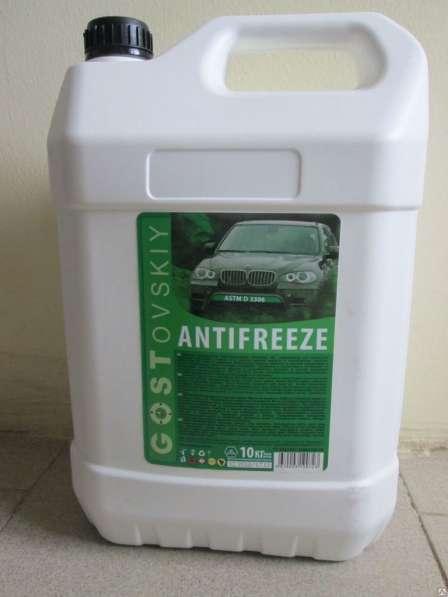 Антифриз GOSTin G-11 зелёный 10 литров