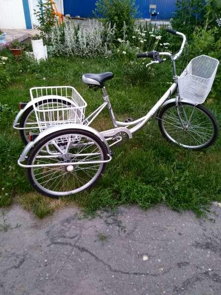 Велосипед Иж-Байк трех колесный