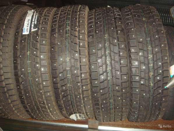 Новые шипы Dunlop 205/65 R15 Winter ICE01