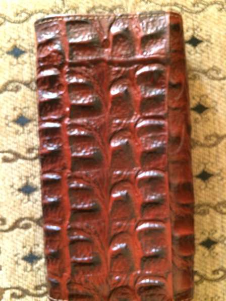 Кошелек из кожи крокодила - новый