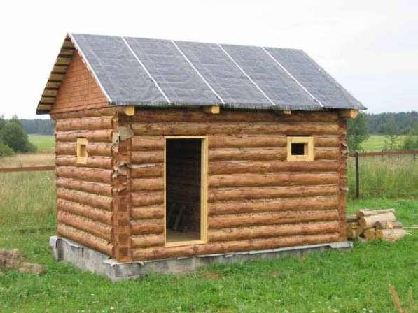 Строительство бань, домов в Омске фото 3
