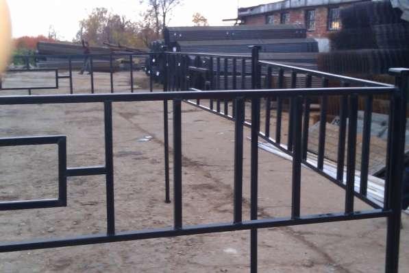 Металличесие ритуальные ограды в Владимире фото 3