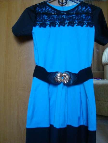 Платье летнее с кружевом