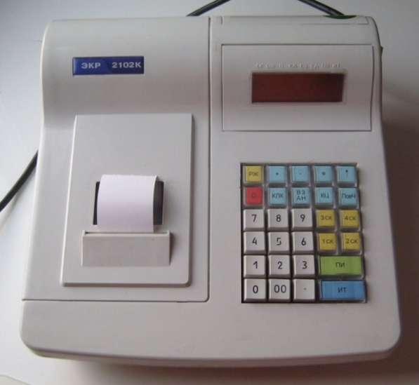 Кассовый аппарат 2102К