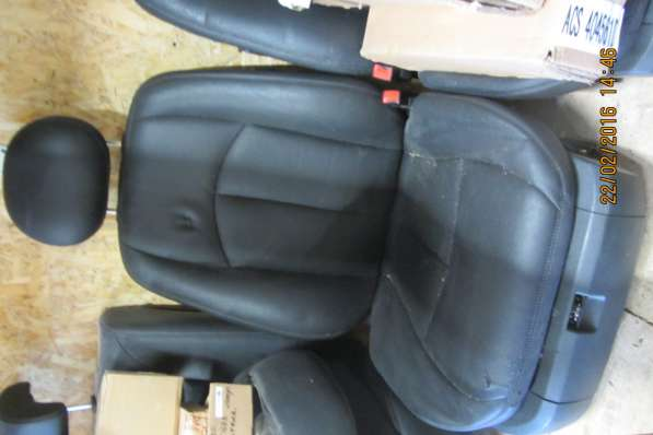 Пассажирское кресло Mercedes-Benz E-klasse W211