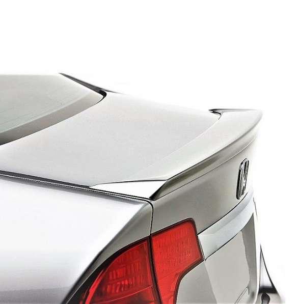 Спойлер для тюнинга Honda Civic 4D, лезвие