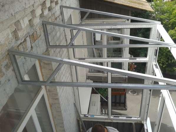 Установка крыш на балкон и лоджию в фото 4