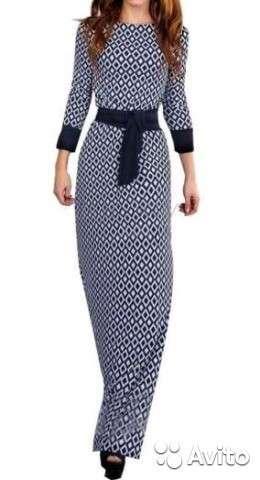 Продам легкое длинное коктейльное платье