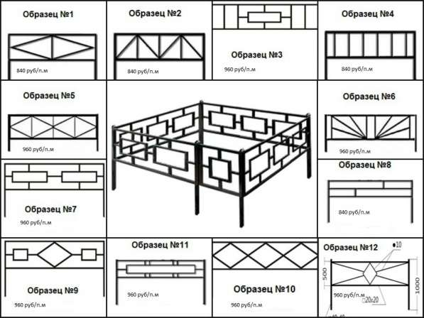 Ограды