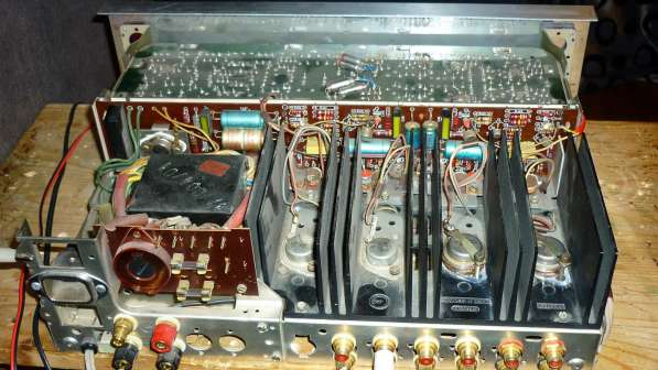 Ремонт и восстановление винтажной аналоговой аудио аппаратур