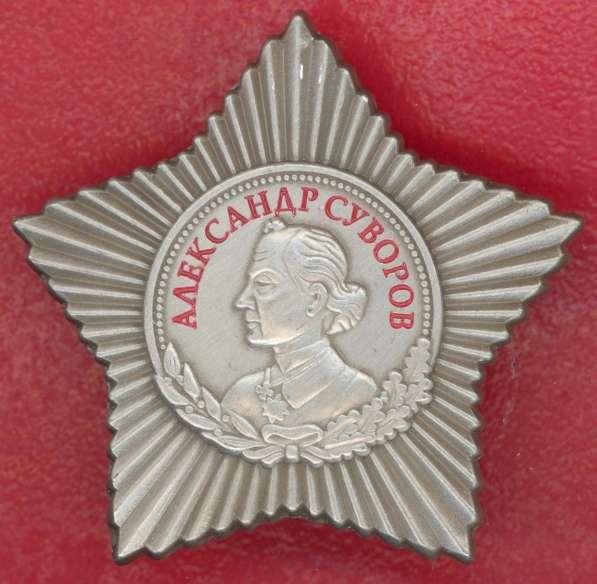 Муляж орден Суворова 3 степени