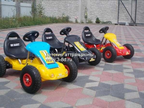 Детский электромобиль, картинг на резиновых колесах