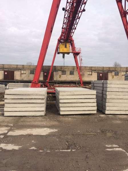ФБС блоки, дорожные плиты в Калининграде