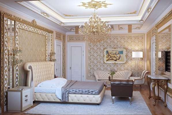 Отделка помещений лепниной в Москве фото 3