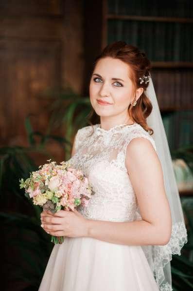 Свадебный макияж, прическа на дом в Челябинске фото 7
