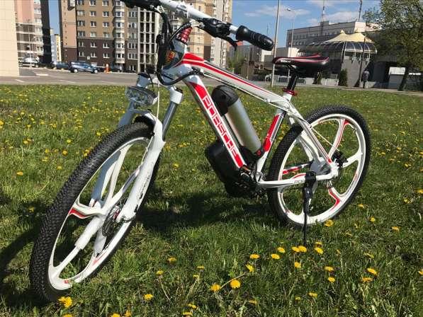 Электровелосипед Porshe 350W. Велосипед в фото 4