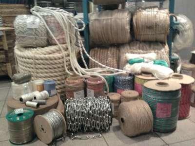 канаты, веревки, шнуры, стропы, шпагаты