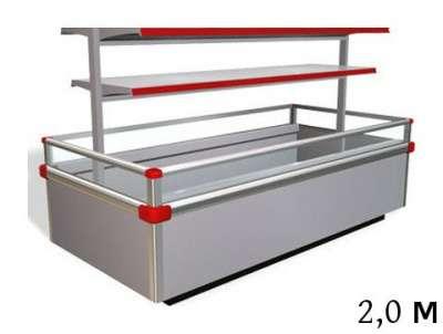 Морозильная бонета, 2,0м, -18С, Крессида