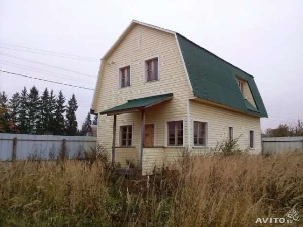 Продается участок с новым домом