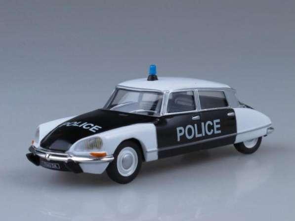 Полицейские машины мира №27 CITROEN ID полиция франции