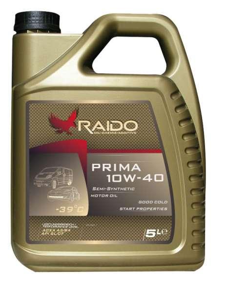 RADO Prima 10W40 полусинтетическое моторное масло