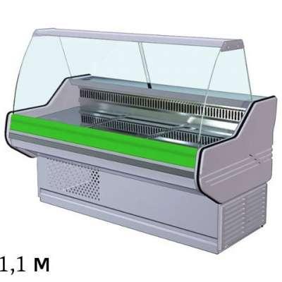 Холодильная витрина, 1.1м, 0...+6С