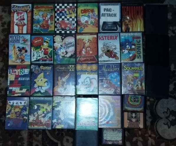 SEGA Mega Drive 2 -Игровая приставка +30 Картриджей в 1лоте! в Москве фото 8
