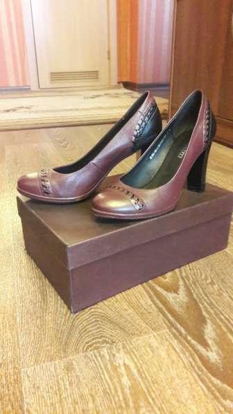 Туфли из натуральной кожи в Омске фото 3