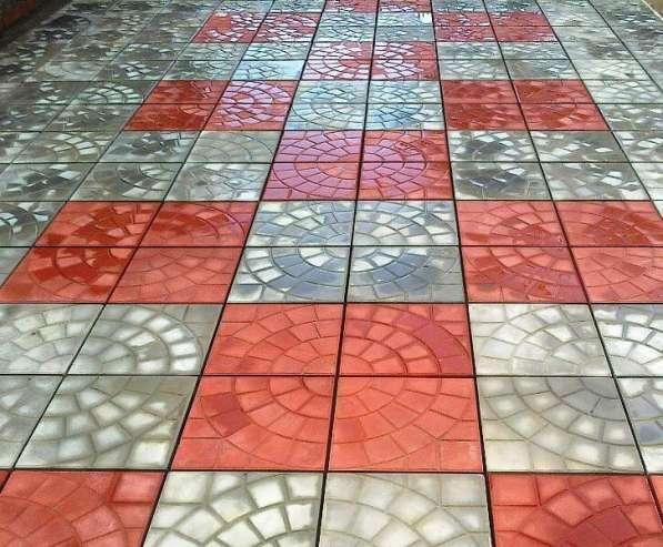 Тротуарная плитка в Егорьевске фото 3