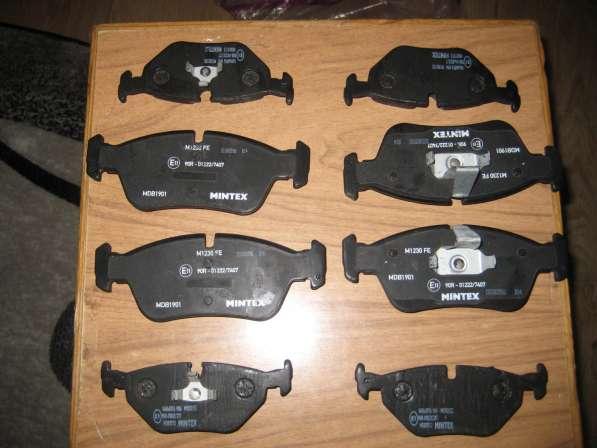 Тормозные колодки на бмв316 1999 г