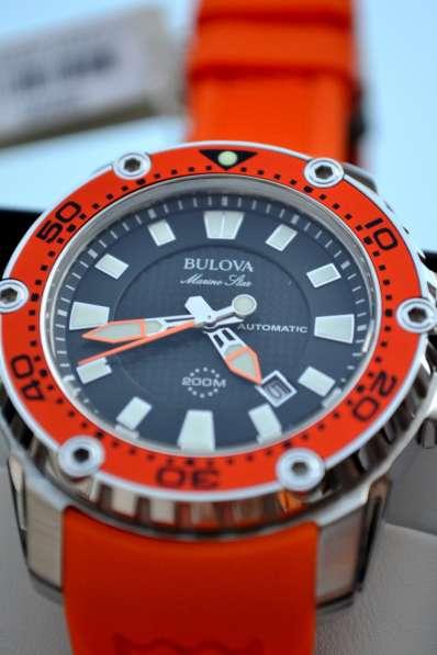 Автоматические дайверские часы Bulova, 200 м