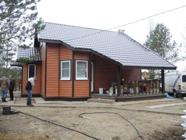Строительство загородных домов по низким ценам ценам в Москве фото 8