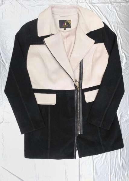 Новое женское пальто из кашемира разм 50