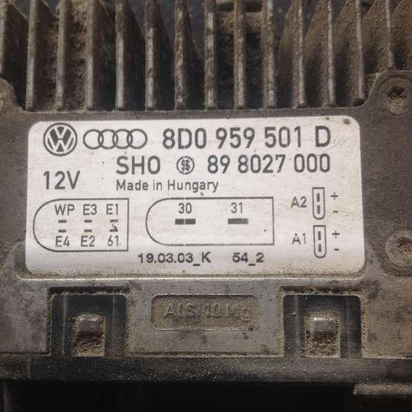 Блок управления электровентиляторами для Ауди А6 2,7 BES