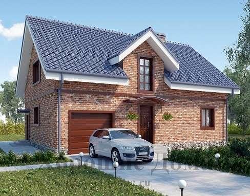 Строительство дома из газобетона 9.46x13.05 199.3 кв. м