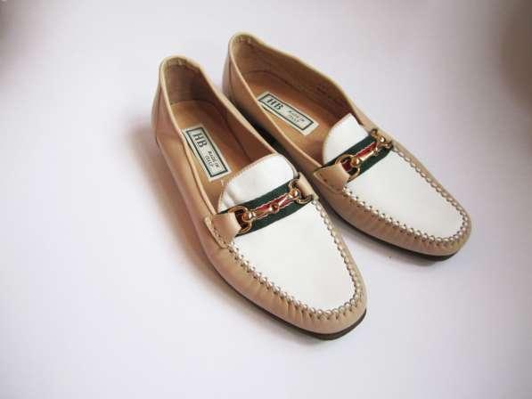 полностью кожаные туфли от HB made in Italy