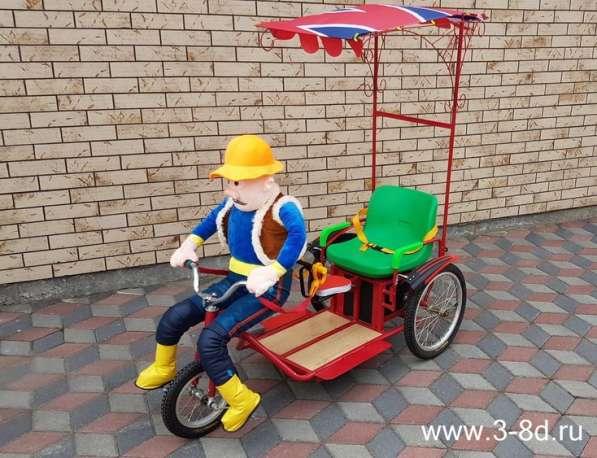 Идея для бизнеса -сдача в прокат Робота велорикшу