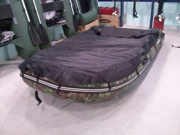 Тент стояночный на лодку 360-370, черный